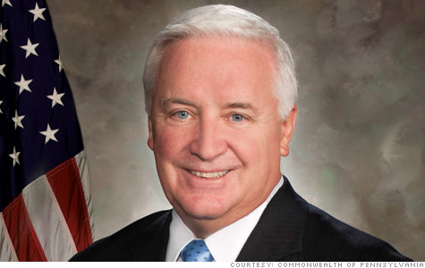 corbett, pennsylvania, public employees, state workers, health care, salary freeze, pay freeze, budget, shortfall