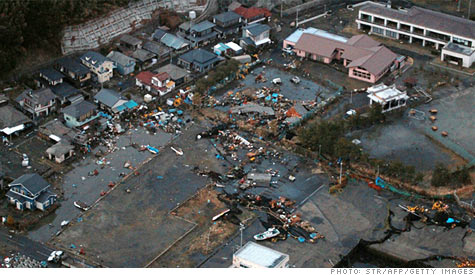 Japan earthquake help