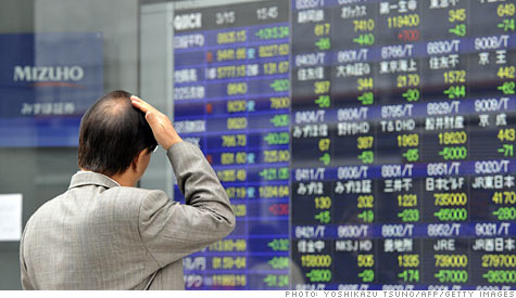 Uncertainty about the outcome of Japan's current crisis is one of the major factors weighing on global markets.