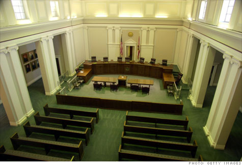 florida, foreclosures, foreclosure filings, courts