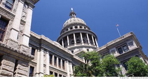 texas, rick perry, jim pitts, budget, jobs, shortfall