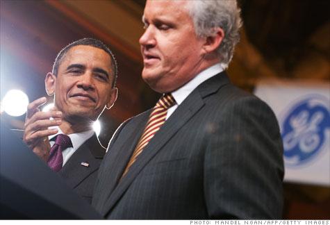 GE chief executive Jeff Immelt lead a key business advisory panel for President Obama.