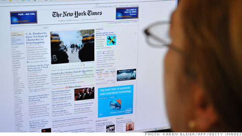 New York Times paywall goes live Monday
