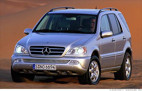 Mercedes Recalls 137 0000 Suvs Over Cruise Control Apr 5 2011
