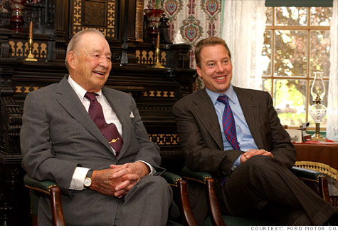 William Clay Ford and Bill Ford