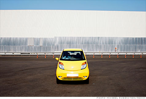 Tata Nano: With a starting price of $2,900 it's the world's cheapest auto.
