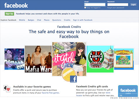 Facebook Deals will be a major boost for Facebook Credits, the site's virtual currency.