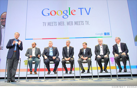 At Google I/O last year, then-CEO Eric Schmidt unveiled Google TV with six partners.