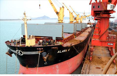 Lianyungang Port in China