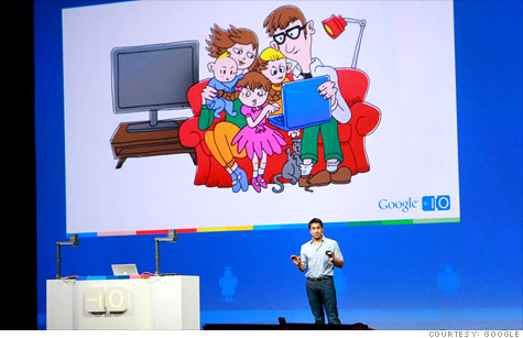 Google I/O 2011: Google wants to control your home