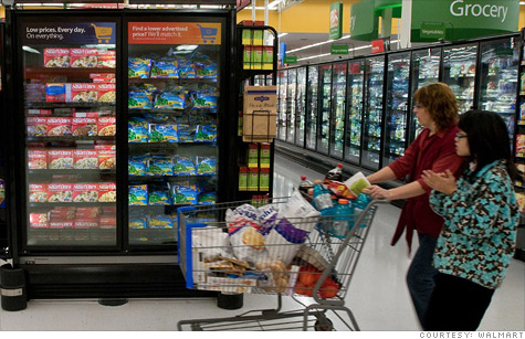 Wal-Mart, shoppers, money