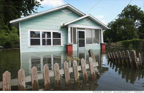 National flood insurance $18 billion in the red