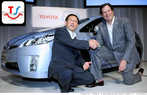 Toyota social network