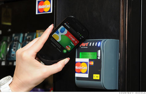 Google Wallet lets you pay with your phone