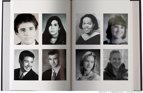 Traditional yearbooks are being replaced by electronic, personalized online yearbooks as schools battle budget crunches.