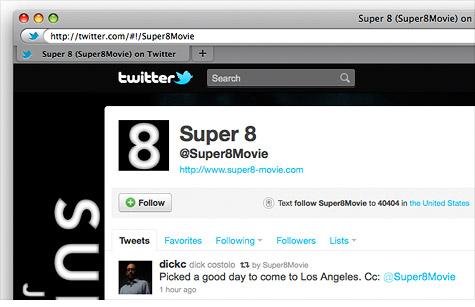 'Super 8' Secret: Movie sneak preview hyped via Twitter