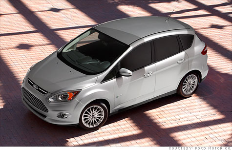 Ford's C-Max hatchback will only be available in the U.S. as a hybrid or plug-in hybrid.