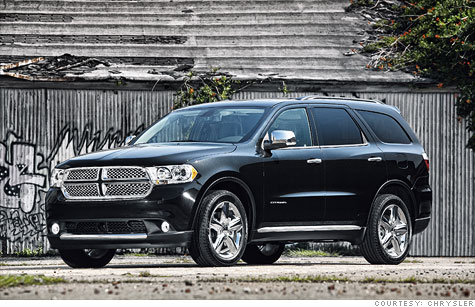 Thanks to electronic stability control and more stable designs SUVs like this Dodge Durango are now half as likely as cars, on average, to be involved in deadly rollover crashes.