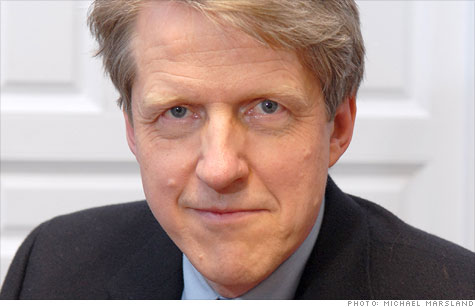 Housing expert Robert Shiller sees price plunge.