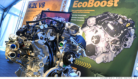 With gas prices on the rise, a majority of Ford F-150 buyers are getting new EcoBoost V6 engines.