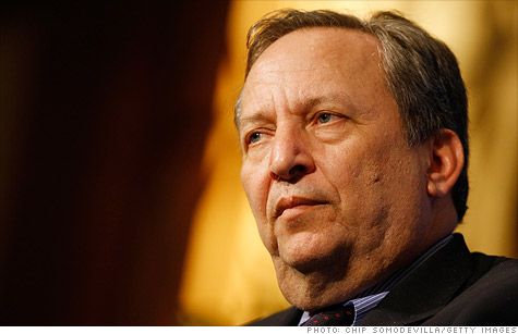 Larry Summers argued in two op-ed pieces that the federal government must do more to get the economy back on track.