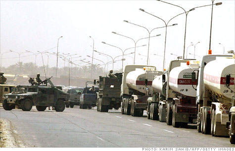 Over 3,000 American have been killed protecting fuel convoys, so the Pentagon has a strategy to get serious about efficiency.