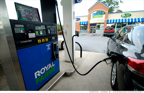 Gas prices have started to fall but higher food prices are starting to hurt consumers as well.