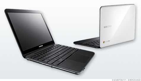 Google's Chromebooks are bare-bones laptops built around a Web browser.