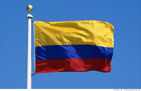 colombia south america