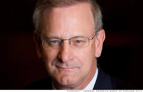 Kansas City Fed chief wants tougher Wall Street reform