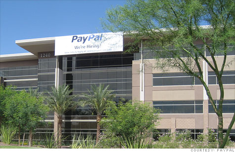 California companies, including PayPal, have been expanding   or relocating outside the Golden State. PayPal recently opened a facility in Arizona.