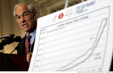Ron Paul: U.S. should declare 'bankruptcy'