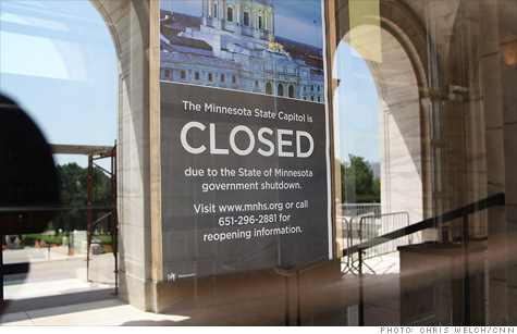 The government shutdown in Minnesota is costing the state and businesses.