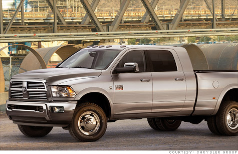 Most of the trucks being recalled are heavy duty Ram 2500 and 3500 work trucks.