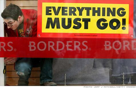 Borders inches closer to liquidation.
