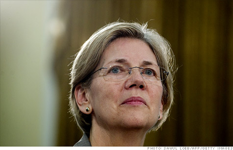 Elizabeth Warren makes 3rd trip to Capitol Hill