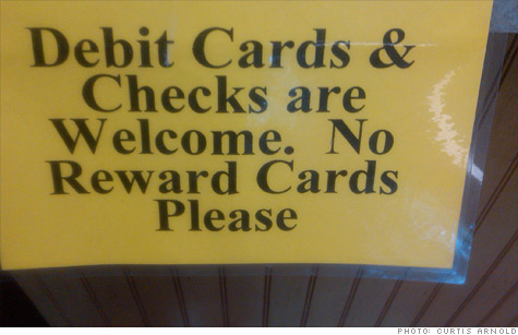 Rewards cards not so rewarding for small businesses jul 14 2011 retailers are in a love hate relationship with rewards credit cards reheart Choice Image
