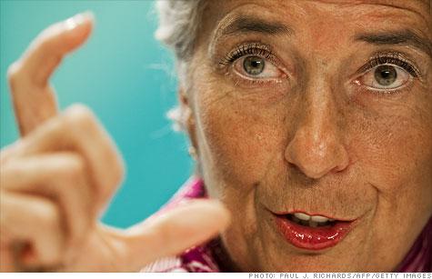 IMF on European debt crisis
