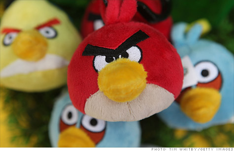 Angry Birds merchandise could be this year's hottest back to school trend.