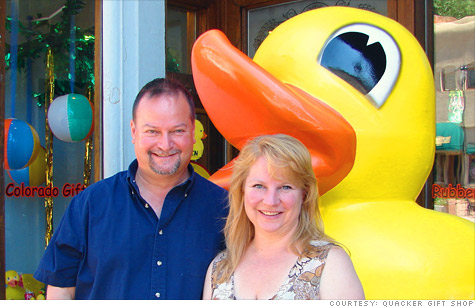 Steve Kudron and Jennifer Brown went from a $2 rubber duck to $1 million.