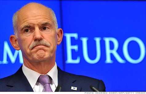 Greek Prime Minister George Papandreou and the EU debt crisis
