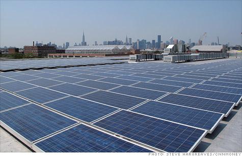 New York City S Solar Power Map Money And Big Hopes Jul