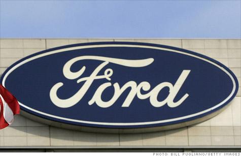 Ford earnings slip; Chrysler results due Tuesday