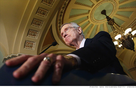 Reid debt ceiling plan comes up short