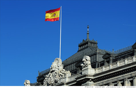 Moody's downgraded six regions of Spain on Friday.