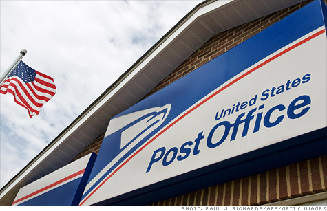 The United States Postal Services has appealed to Congress to remove collective bargaining restrictions and allow 120,000 layoffs and major changes to employee benefits.