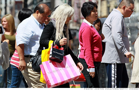 Retail sales rise 0.5% in July, the Commerce Department said Friday.