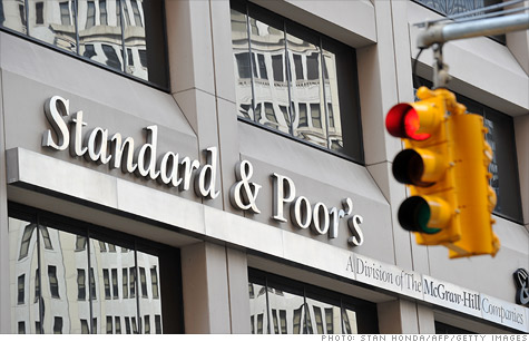 S&P said to face federal investigation over mortgage rates