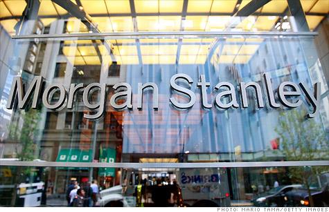 Morgan Stanley's lower global outlook rattles world markets