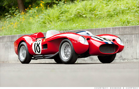 Ferrari racecar sells for world record $16.4 million